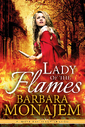 Cover image for LADY OF THE FLAMES by Barbara Monajem