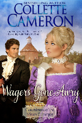Cover image for Collette Cameron's Wagers Gone Awry