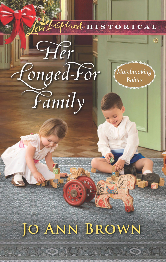 Cover image for Jo Ann Brown's Her Longed-For Family