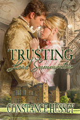 Cover image for Constance Hussey's Trusting Lord Summerton