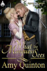 Cover image for Amy Quinton's What the Marquess Sees