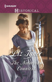 Cover image for Liz Tyner's The Notorious Countess