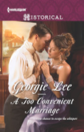 Cover image for Georgie Lee's A Too Convenient Marriage