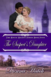 Cover of The Suspect's Daughter by Donna Hatch