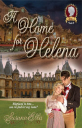 Cover image for A HOME FOR HELENA by Susanna Ellis