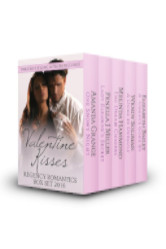 Cover image for the VALENTINE KISSES Anthology