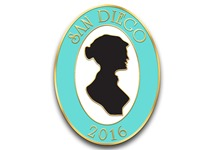 The Beau Monde's 2016 San Diego Conference Pin