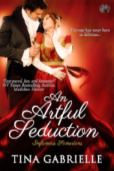 Cover image for AN ARTFUL SEDUCTION by Tina Gabrielle