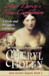 Cover image for MISS DARCY'S NEW COMPANION by Cheryl Bolen