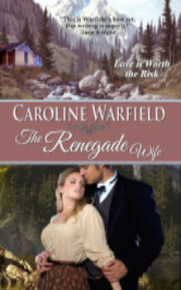 Cover image for THE RENEGADE WIFE by Caroline Warfield