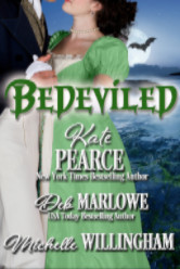 Cover image for BEDEVILED The Haunting of Castle Keyvnor by Kate Pearce, Michelle Willingham, and Deb Marlowe