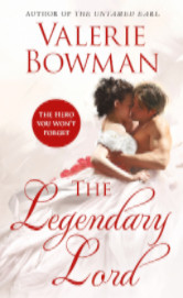 Cover image for The Legendary Lord by Valerie Bowman