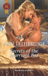 Cover image for The Secrets of the Marriage Bed by Ann Lethbridge