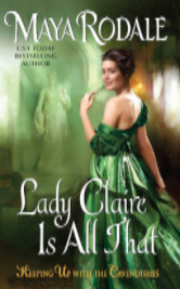 Cover image for Lady Claire is All That by Maya Rodale