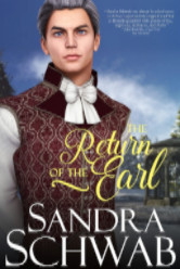 Cover image for The Return of the Earl by Sandra Schwab