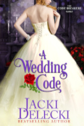 Cover image for A Wedding Code by Jacki Delecki