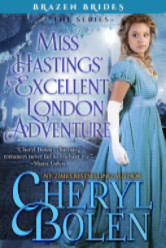 Cover image for Miss Hastings' Excellent London Adventure by Cheryl Bolen