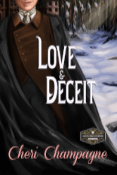 Cover image for Love and Deceit by Cheri Champagne