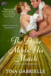 Cover image for The Duke Meets His Match by Tina Gabrielle
