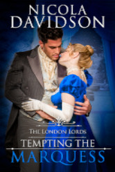 Cover image for Tempting the Marquess by Nicola Davidson