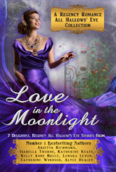 Cover image for LOVE IN THE MOONLIGHT by Arietta Richmond