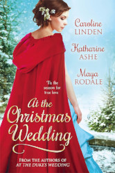 Cover image for AT THE CHRISTMAS WEDDING by Caroline Linden