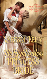 Cover image for THE HIGHLANDER'S PRINCESS BRIDE by Vanessa Kelly