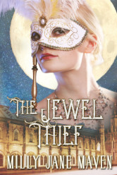 Cover image for The Jewel Thief: A Regency Ghost Story by Milly Jane Maven