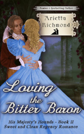 Cover image for Loving the Bitter Baron by Arietta Richmond