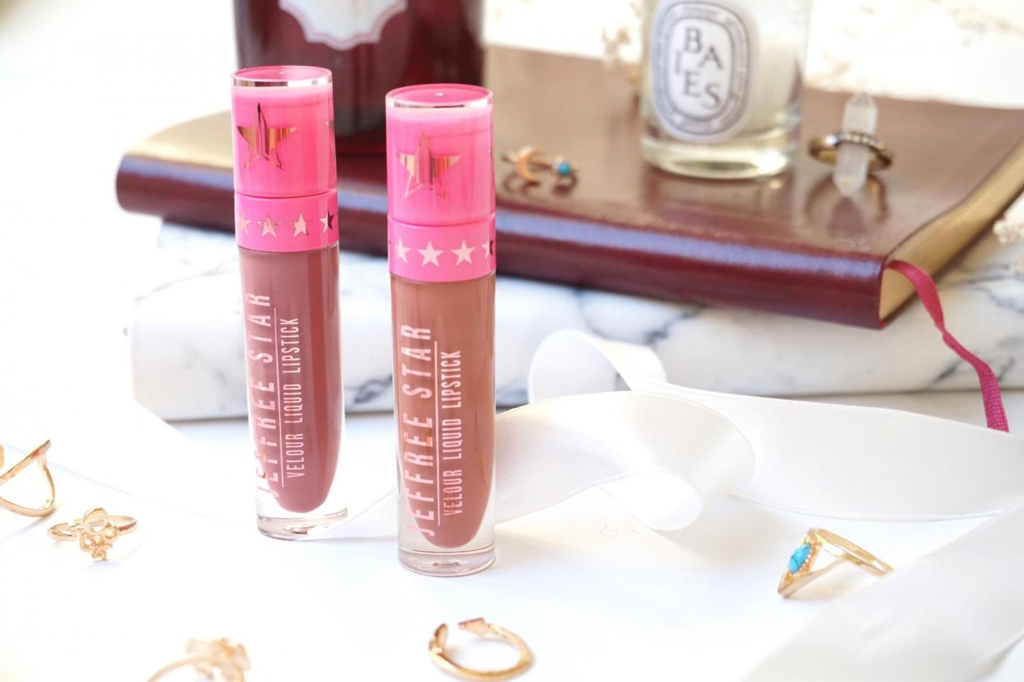 Jeffree Star: Velour Liquid Lipstick in Androgyny and Leo