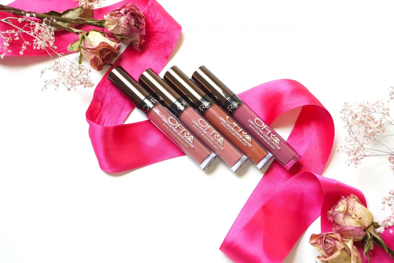 Ofra, Long Lasting Liquid Lipstick (Mocha, Pasadena, Americano & Manhattan)