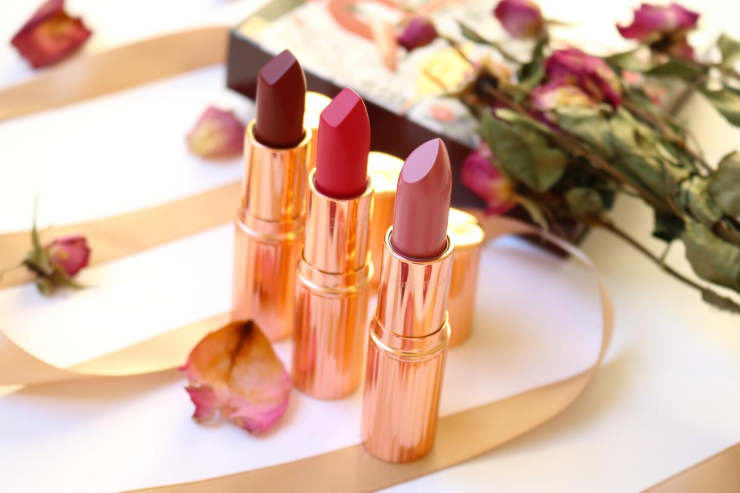 Charlotte Tilbury Your Lip Service with Legendary Queen, The Queen and The Duchess