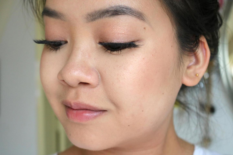 Charlotte Tilbury Glowgasm Face Palette makeup look