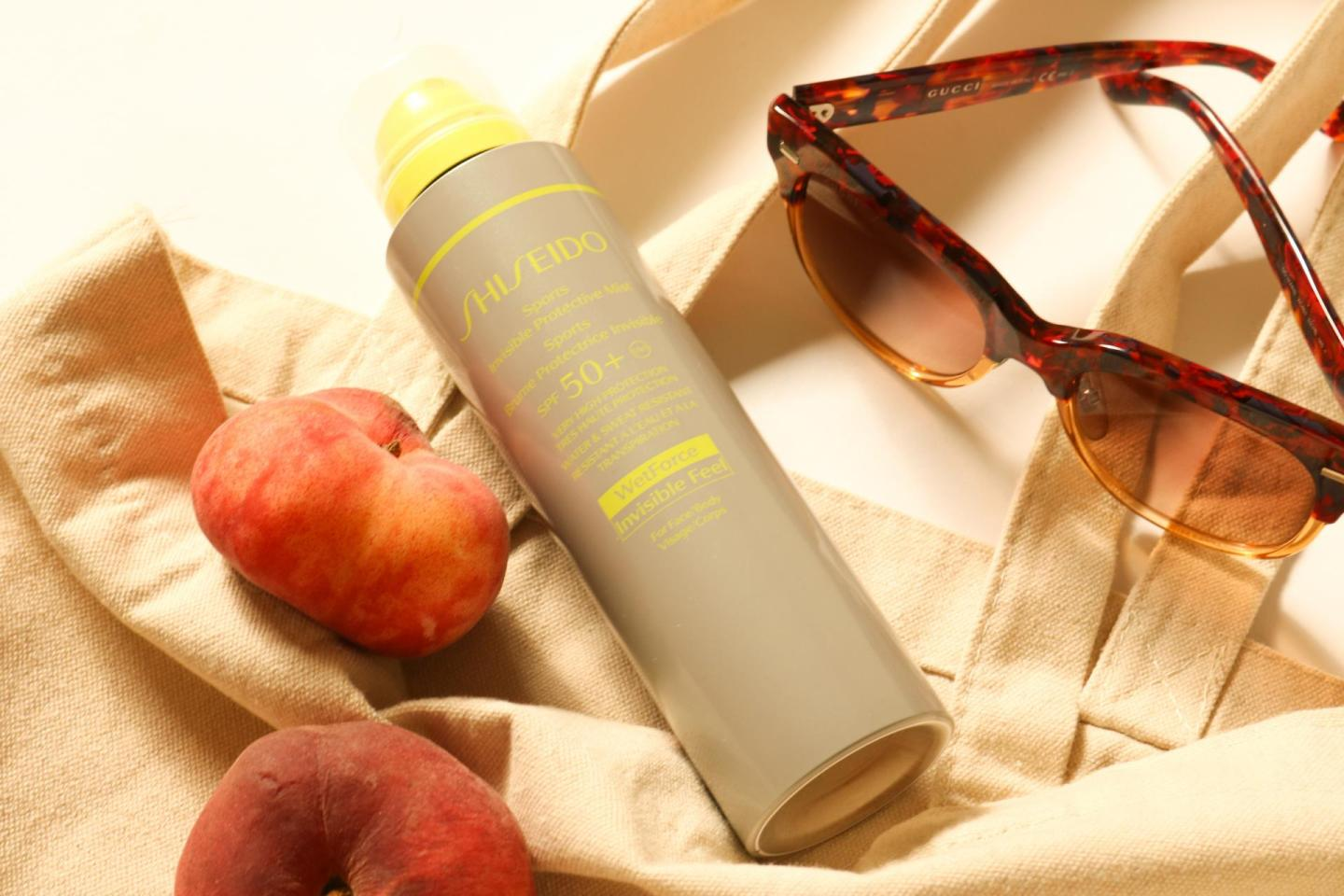 the Sports Invisible Protective Mist SPF50+ sunscreen