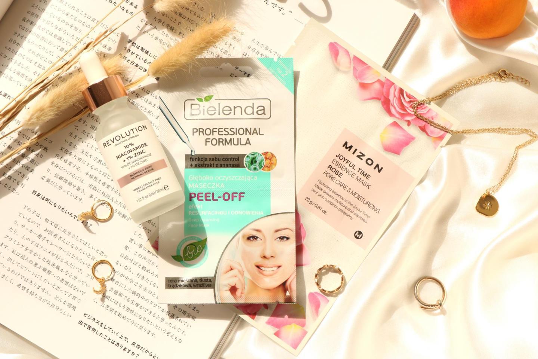 Revolution, Bielenda and Mizon products
