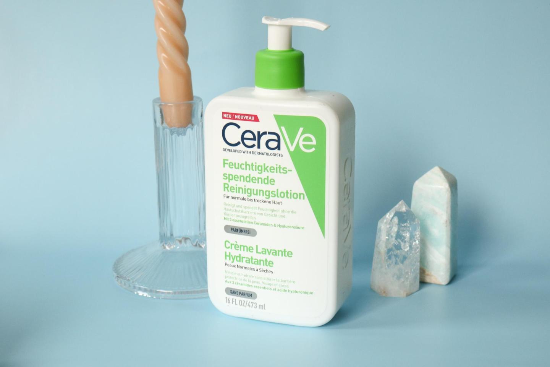 Een hydraterende gezichtsreiniging met CeraVe