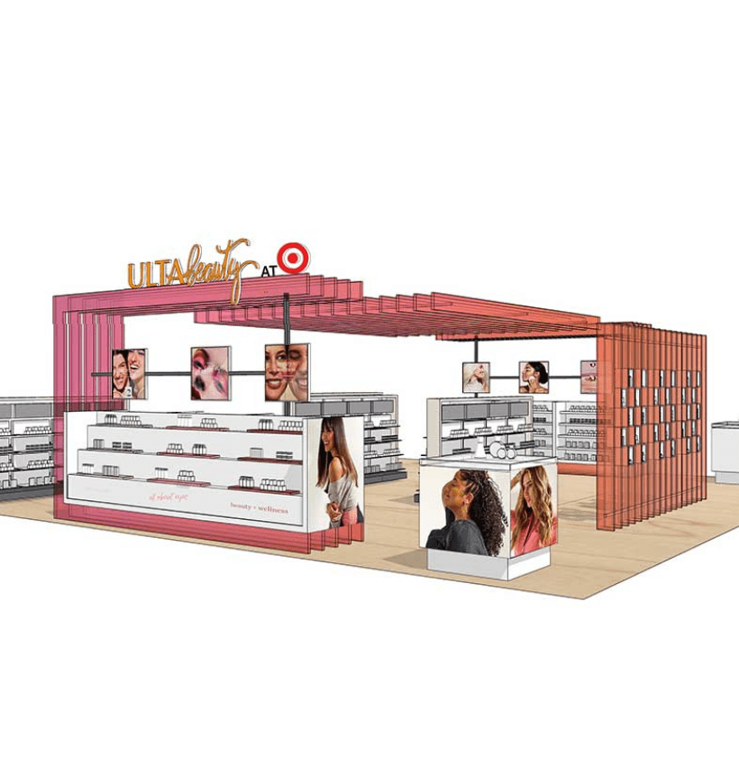 a sketch of what Ulta inside of Target will look like