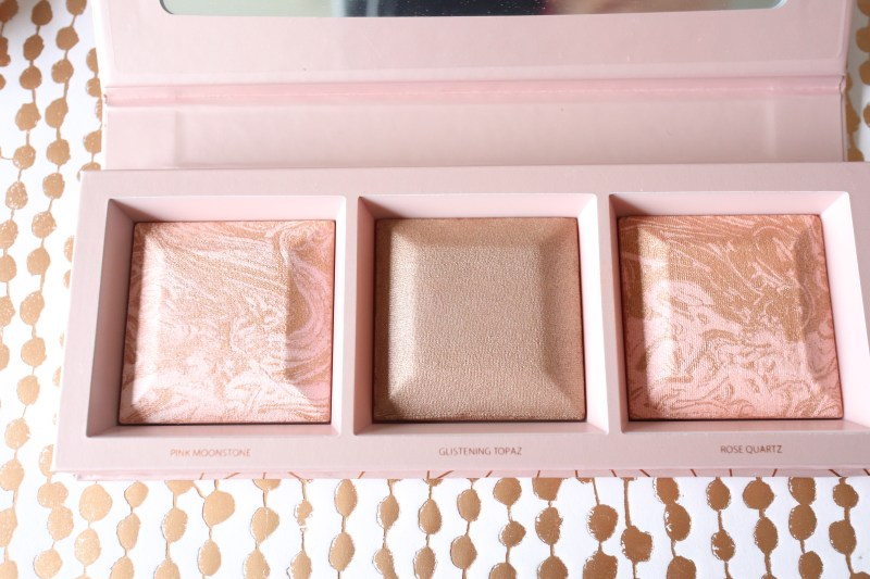Bare Minerals Crystalline Glow Bronzer and Highlighter palette