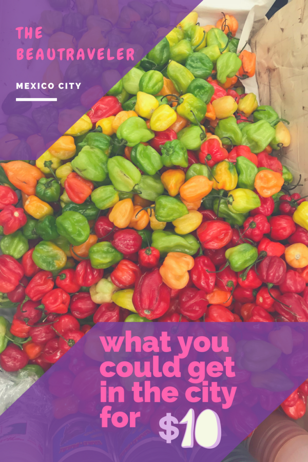 What You Could Get in Mexico City for $10 - The BeauTraveler