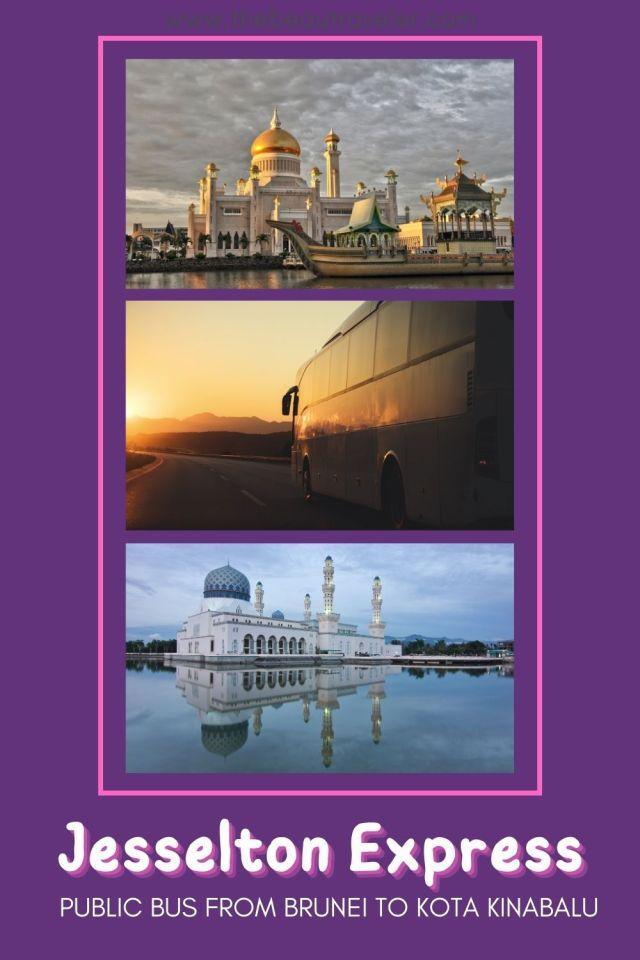 Bus from Brunei to Sabah, Malaysia - The BeauTraveler