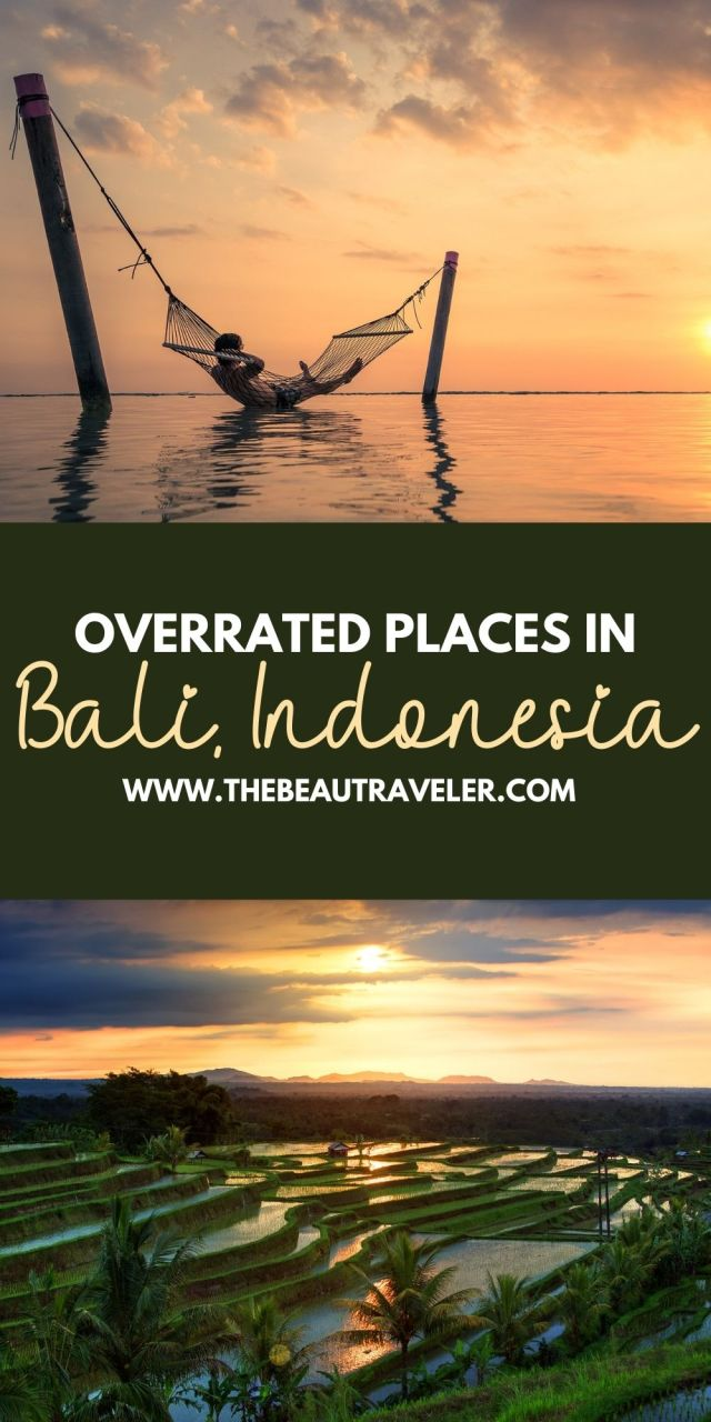 Overrated Places in Bali