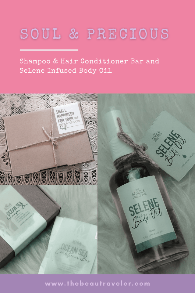 Review: Frizy Studio's Soul & Precious Shampoo & Hair Conditioner Bar and Selene Infused Body Oil - The BeauTraveler