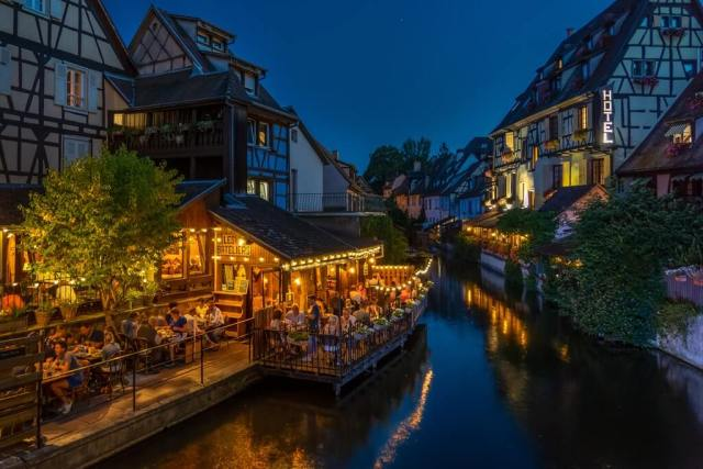 A night in France.