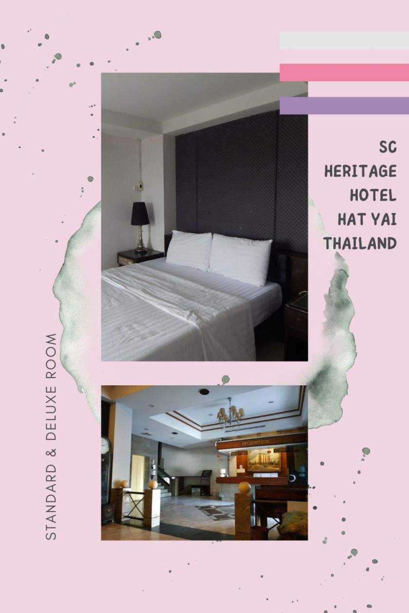 Firsthand Review: Standard & Deluxe Room at SC Heritage Hotel in Hat Yai, Thailand - The BeauTraveler