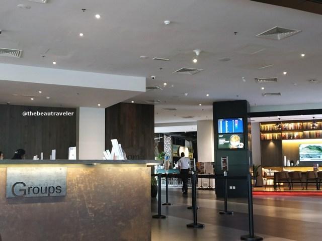 Tune Hotel KLIA/KLIA2 in Kuala Lumpur International Airport.