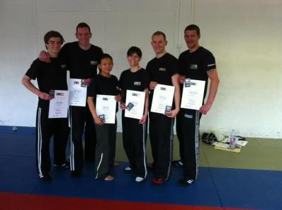 hazel-krav-maga-certificate-with-the-group