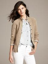 Ribbed Sweater Jacket