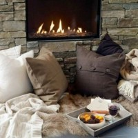 Warm and Cozy: A Fireside Inspired Tutorial