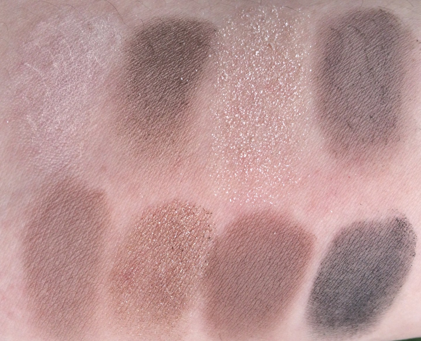 Bobbi Brown Greige Eye Palette Swatches