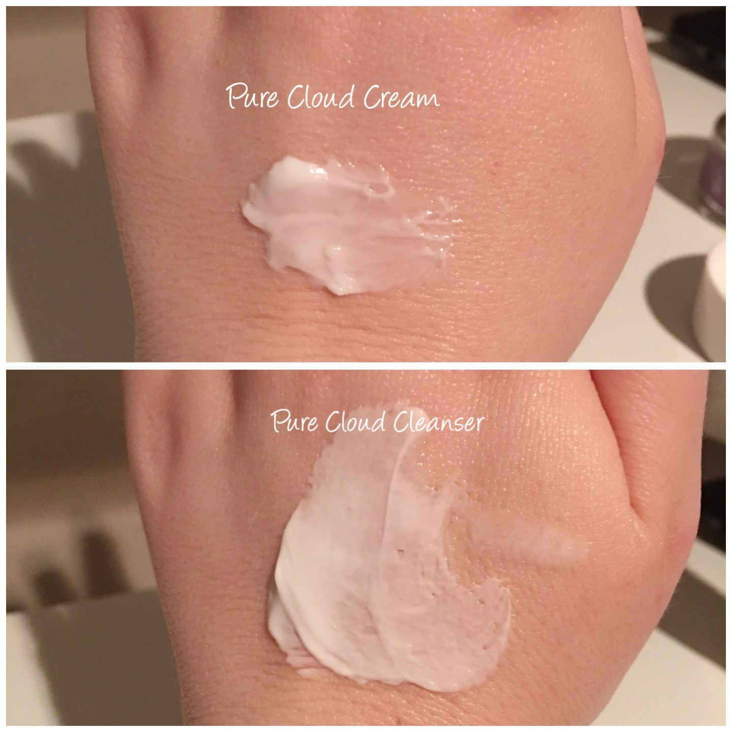 Skyn Iceland Pure Cloud Cleanser and Pure Cloud Cream